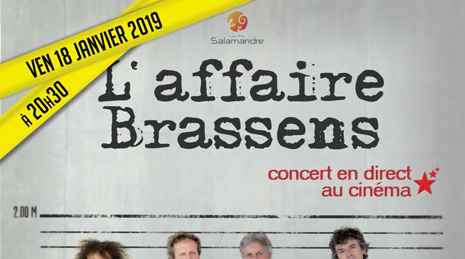 Photo du film L'Affaire Brassens - Concert
