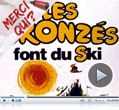 Photo : Les Bronzs font du ski