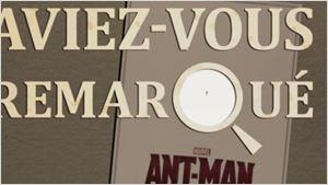 Aviez-vous remarqué ? Les petits détails cachés de Ant-Man