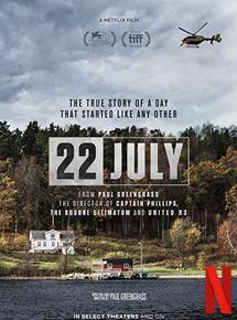 Utoya, 22 Juillet en streaming vf complet
