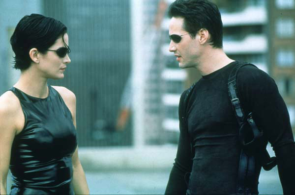 Matrix : Photo Carrie-Anne Moss, Keanu Reeves