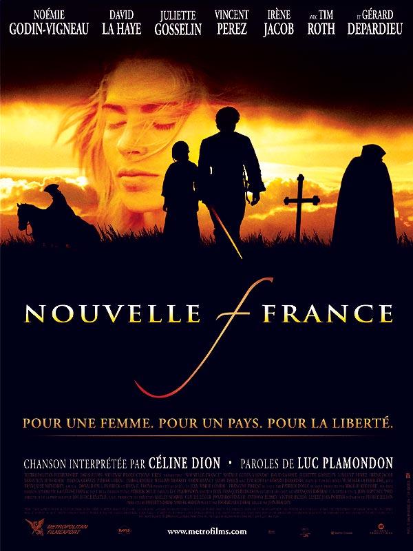 Nouvelle-France : affiche Jean Beaudin, Noémie Godin-Vigneau