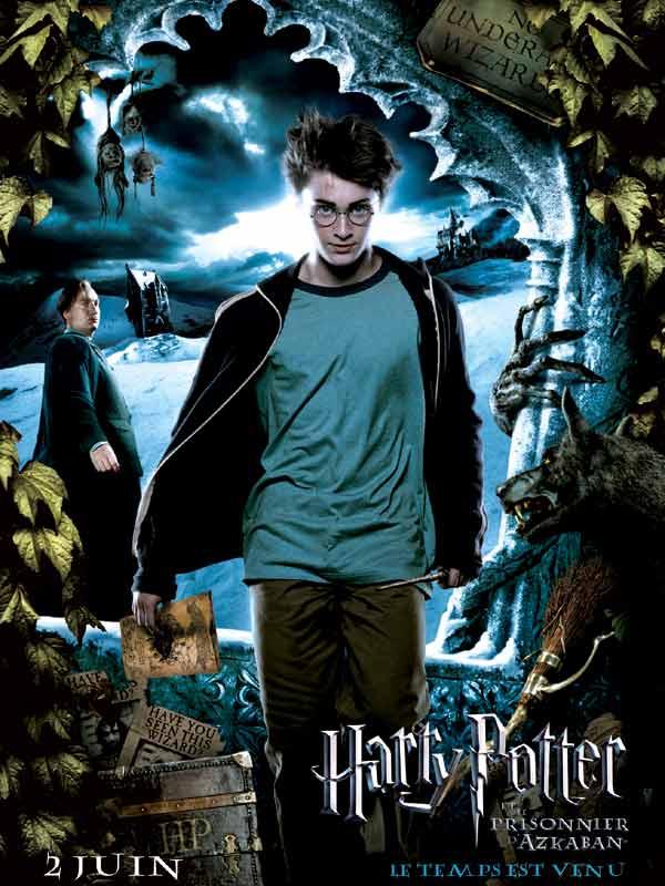 Harry Potter et le Prisonnier d'Azkaban : Affiche Alfonso Cuarón, Rupert Grint