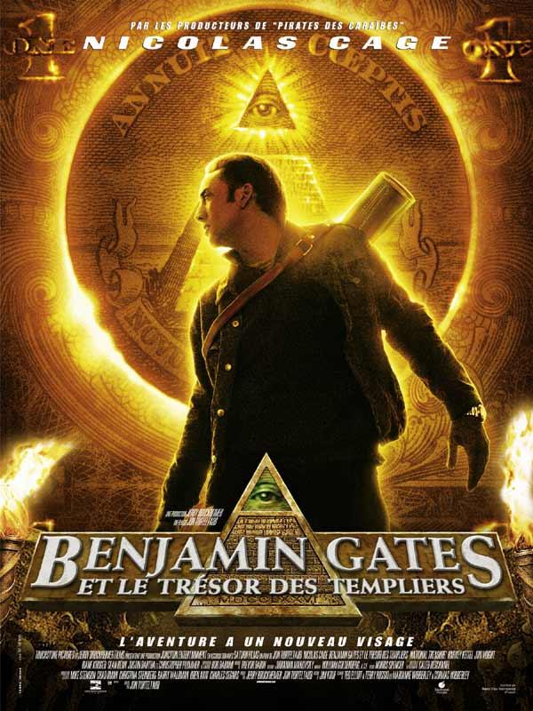 film benjamin gates et le trésor des templiers