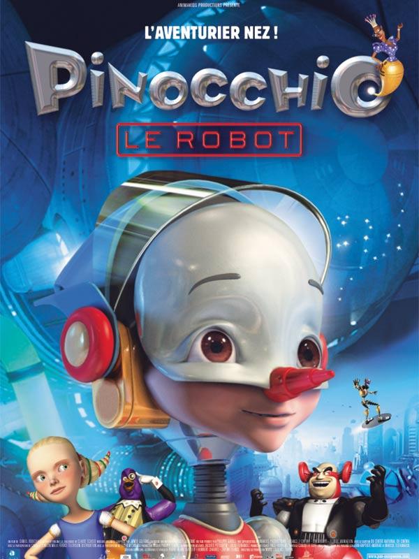 Affiche du film Pinocchio le robot - Affiche 1 sur 1 - AlloCiné