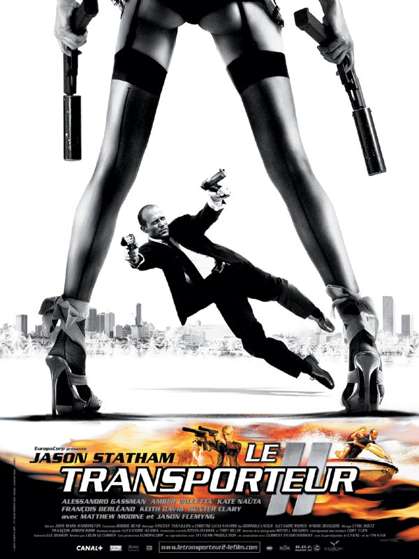 affiche du film le transporteur ii affiche 1 sur 2 allocin. Black Bedroom Furniture Sets. Home Design Ideas