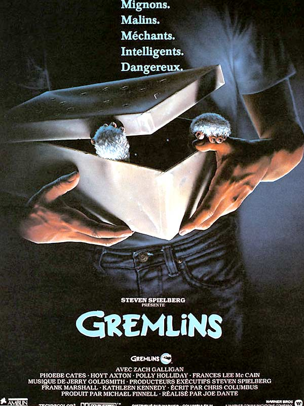 Gremlins / Joe Dante, Réal. | Dante, Joe. Metteur en scène ou réalisateur