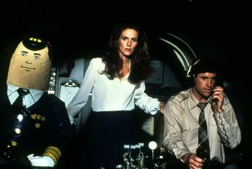 Y a-t-il un pilote dans l'avion ? : Photo Jim Abrahams, Julie Hagerty, Robert Hays