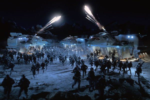 Starship Troopers : photo Paul Verhoeven