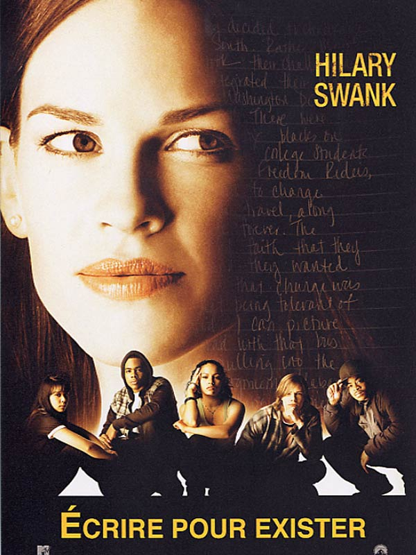"freedom writers book summary In ""freedom writers"" ms swank uses that neediness to fine effect in a film with a strong emotional tug and smartly laid foundation she plays erin gruwell, who in 1994 was a 23-year-old student teacher assigned to teach freshman english at wilson high school in long beach, calif."