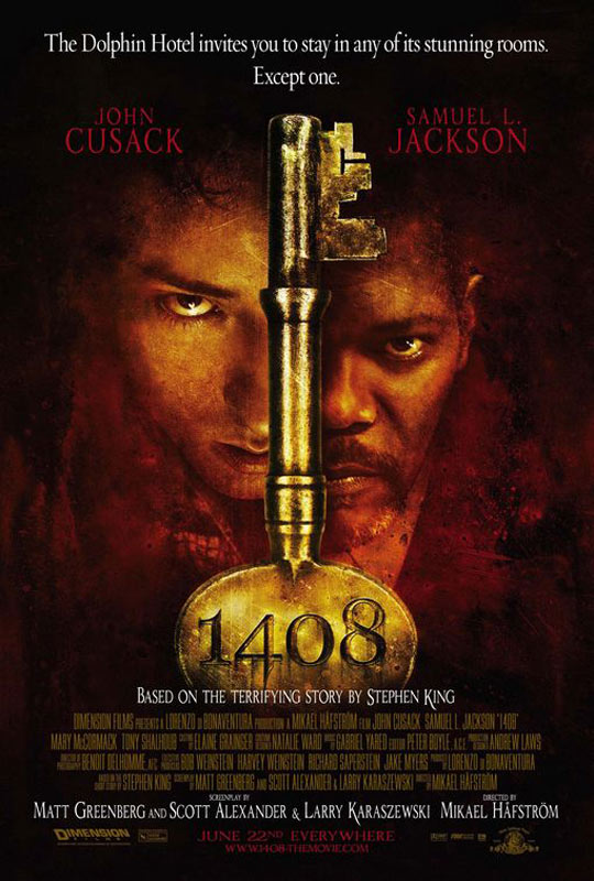 Chambre 1408 : Affiche John Cusack, Mikael Hafstrom, Samuel L. Jackson
