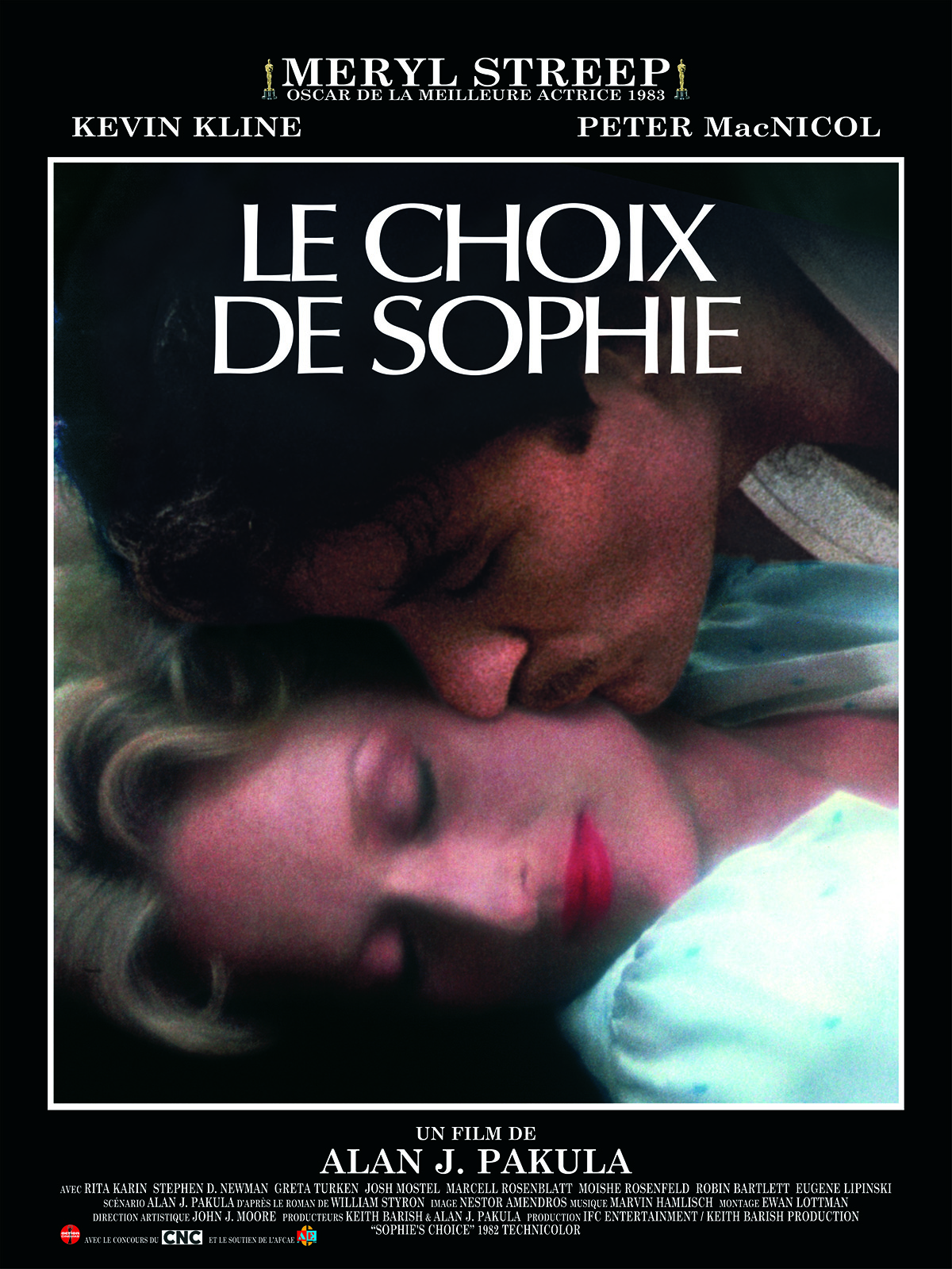 le choix de sophie film 1982 allocin. Black Bedroom Furniture Sets. Home Design Ideas