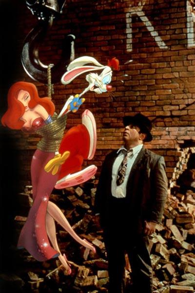 Qui veut la peau de Roger Rabbit ? : photo Bob Hoskins, Robert Zemeckis