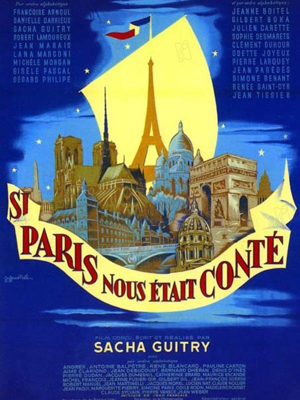 Si Paris nous était conté : affiche