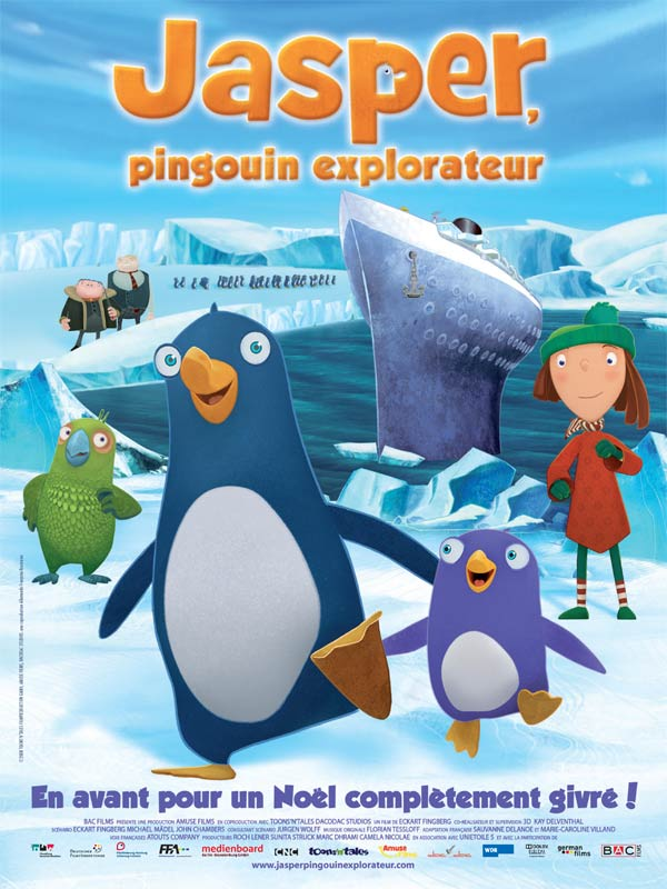 Jasper pingouin explorateur film 2008 allocin - Jasper le pingouin ...