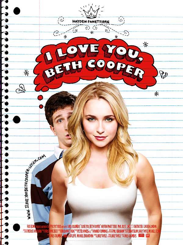 Love you beth cooper film 2009 allocin 233