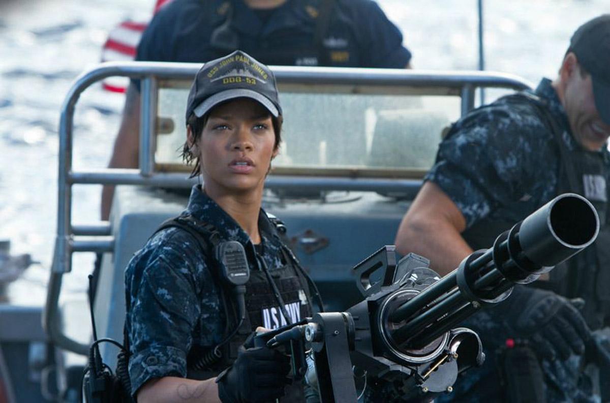 Battleship : Photo Peter Berg, Rihanna