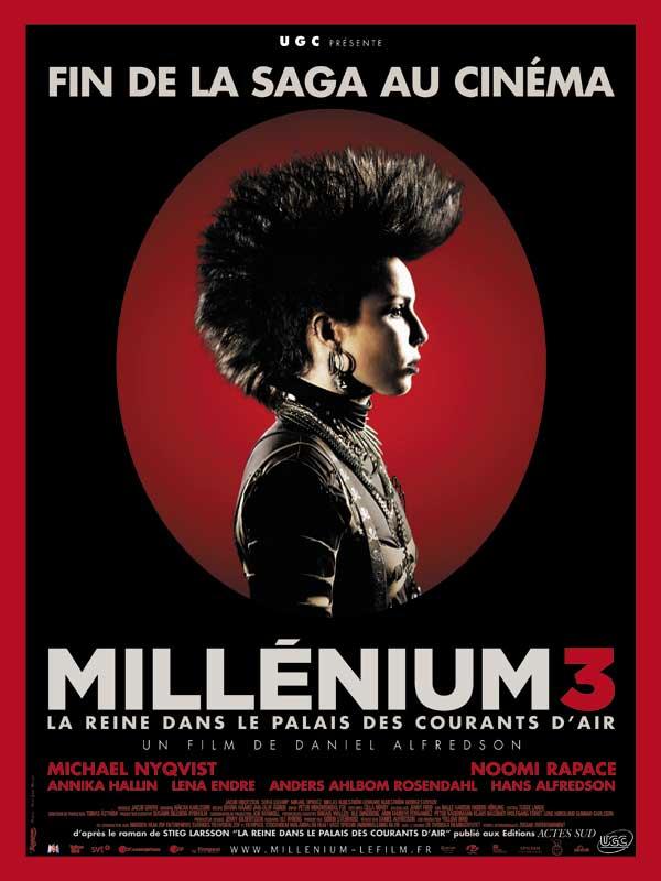 Millénium 3 - La Reine dans le palais des courants d'air streaming