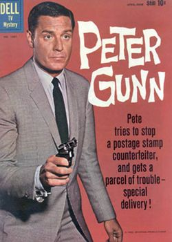 Affiche de la série Peter Gunn