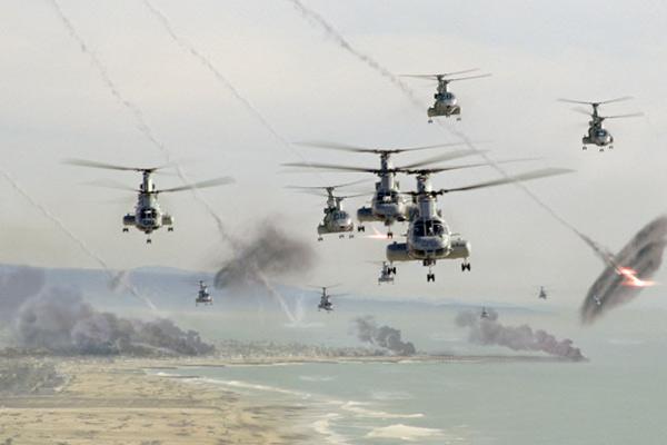 World Invasion : Battle Los Angeles : photo Jonathan Liebesman