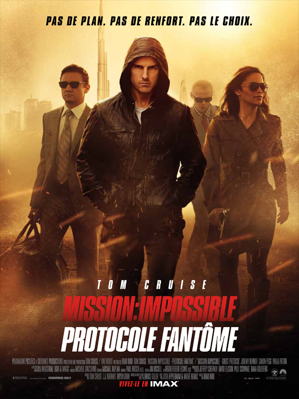 Mission : Impossible - Protocole fantôme streaming