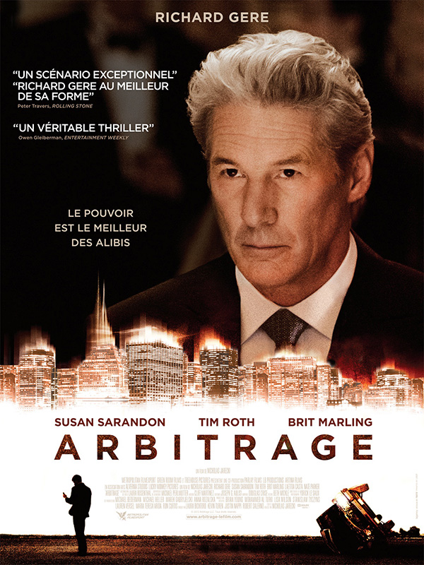Regarder Film Arbitrage en Streaming PureVID MixtureVideo