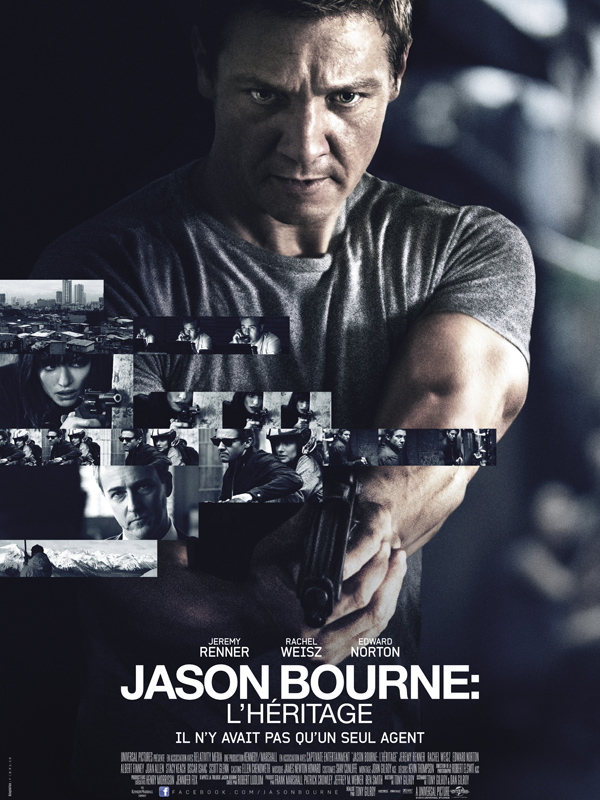 Jason Bourne : l'héritage Streaming