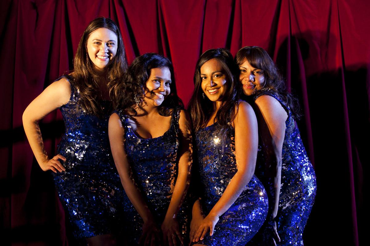 Les Saphirs : Photo Deborah Mailman, Jessica Mauboy, Miranda Tapsell, Shari Sebbens