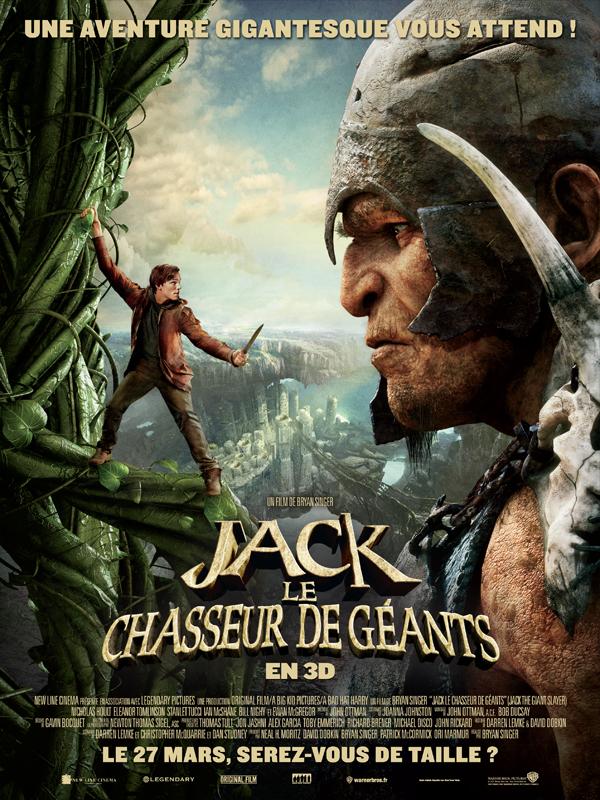 Horaires séances du film Jack le chasseur de géants à cournon d'auvergne
