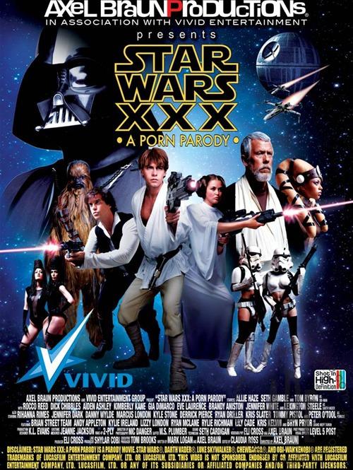 Star wars xxx parody