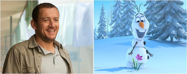 dany boon prte sa voix au bonhomme de neige du prochain disney la reine des neiges
