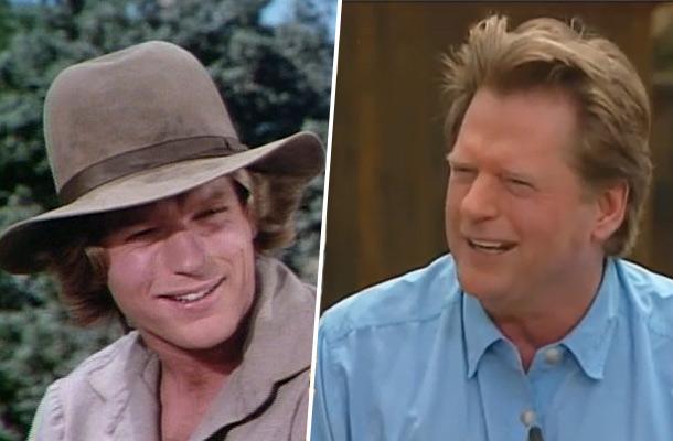 Dean butler almanzo wilder que sont ils devenus la for Acteur de la petite maison dans la prairie