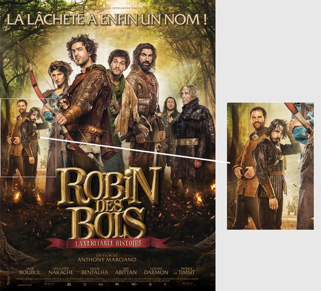 et Quentin du Petit Journal dans Robin des Bois la véritable histoire ~ Acteur De Robin Des Bois