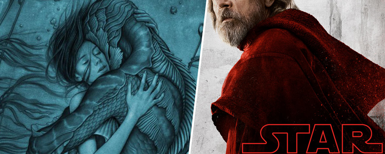 Star Wars 8, Kingsman 2, The Shape of Water... Les 20 photos ciné de la semaine !