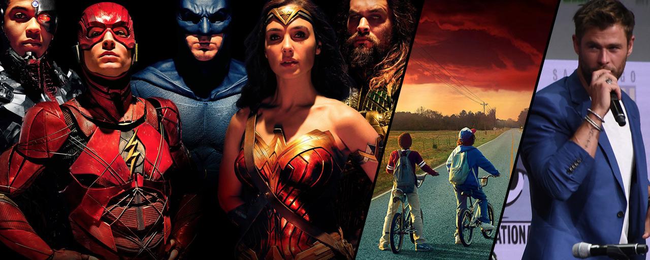 Justice League, Stranger Things, Thor... Que retenir du Comic-Con 2017 ?