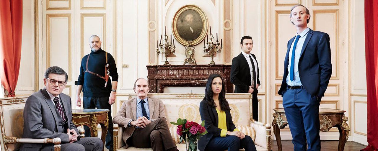 Alphonse Président : OCS présente cet automne sa nouvelle série avec Michel Vuillermoz, de la Comédie Française