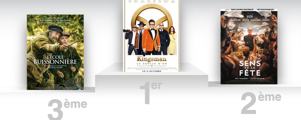 Box office france kingsman s infiltre la premi re place allocin - Allocine box office france ...