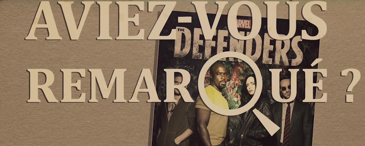 Aviez-vous remarqué ? Les petits détails cachés de Marvel's The Defenders