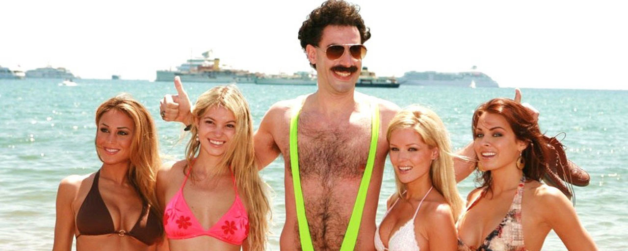 Borat : Sacha Baron Cohen au secours de touristes adeptes du mankini