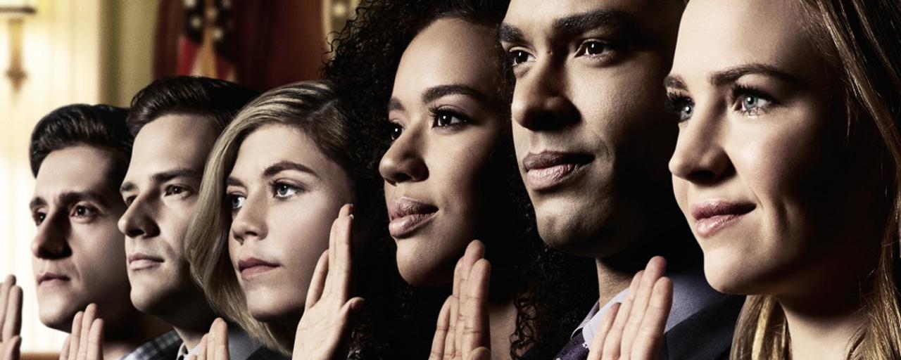 Audiences US : mauvais démarrage pour For the People, la nouvelle série produite par Shonda Rhimes