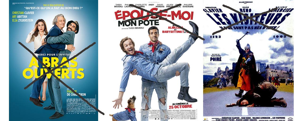 Découvrez comment ces comédies françaises ont failli s'appeler...