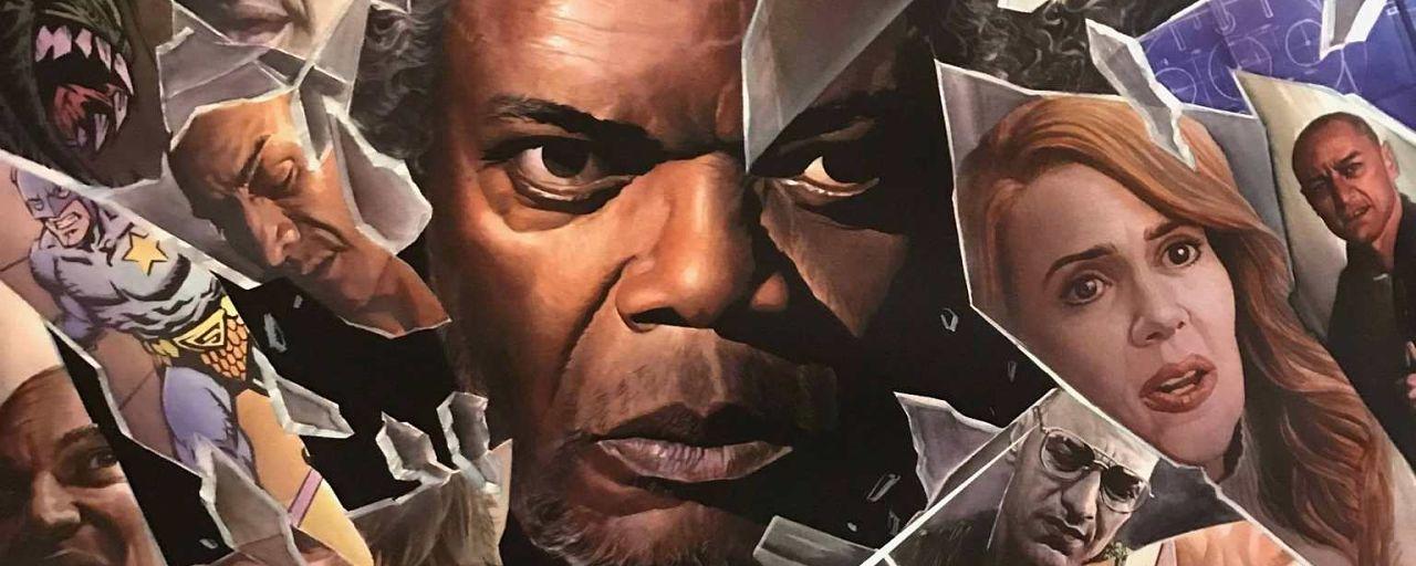 Glass s'offre une légende des comic books pour son affiche spéciale Comic-Con 2018
