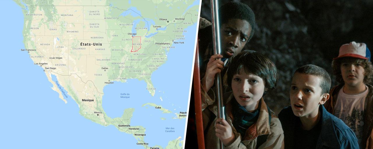 Stranger Things, The Walking Dead... Dans quels états d'Amérique se passent ces séries ? [QUIZ]