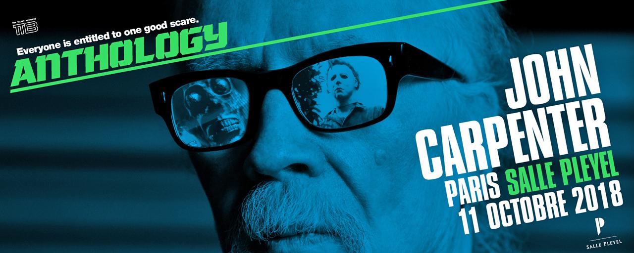 John Carpenter : le maître du fantastique est en ciné-concert salle Pleyel