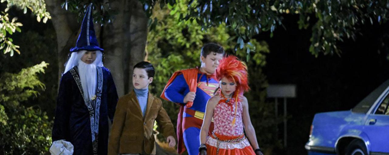 Young Sheldon : découvrez les premières images de l'épisode spécial d'Halloween