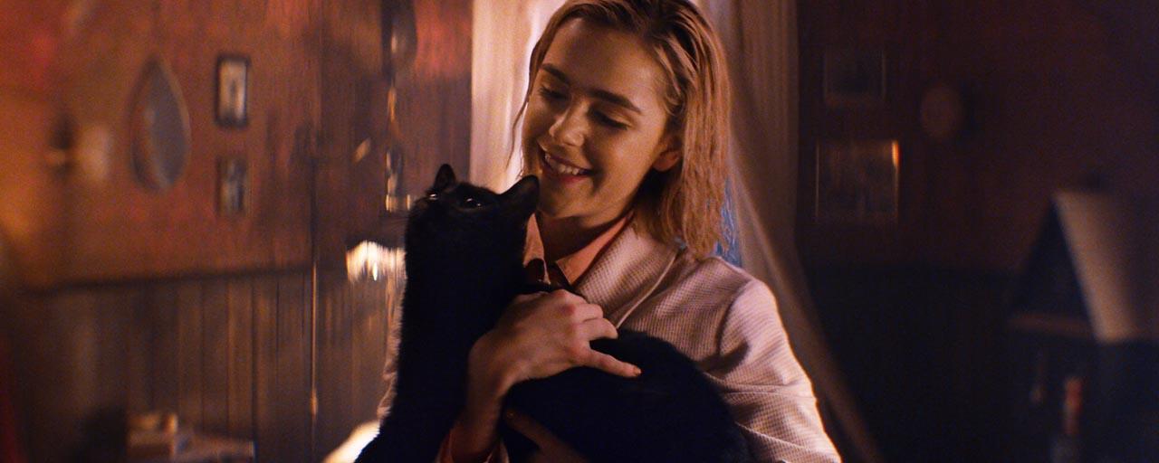 Les Nouvelles Aventures de Sabrina: #AdopteUnSalem, le hashtag qui fédère les fans de chats noirs