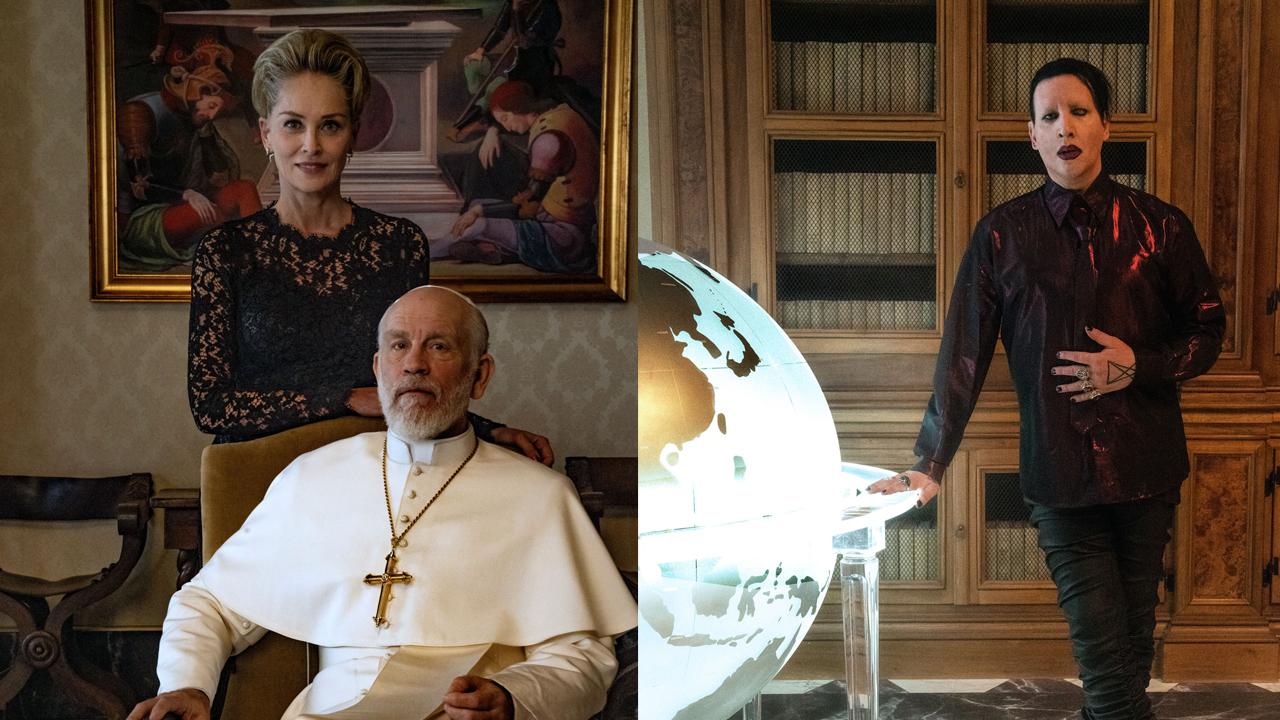 Sharon Stone et Marilyn Manson rejoignent le New Pope de Paolo Sorrentino