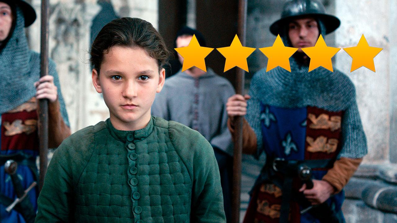 Jeanne de Bruno Dumont meilleur film de la semaine selon la presse