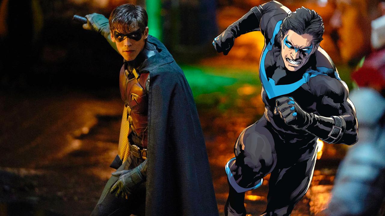 Titans saison 2 : le nouveau costume de Robin dévoilé sur des photos de tournage