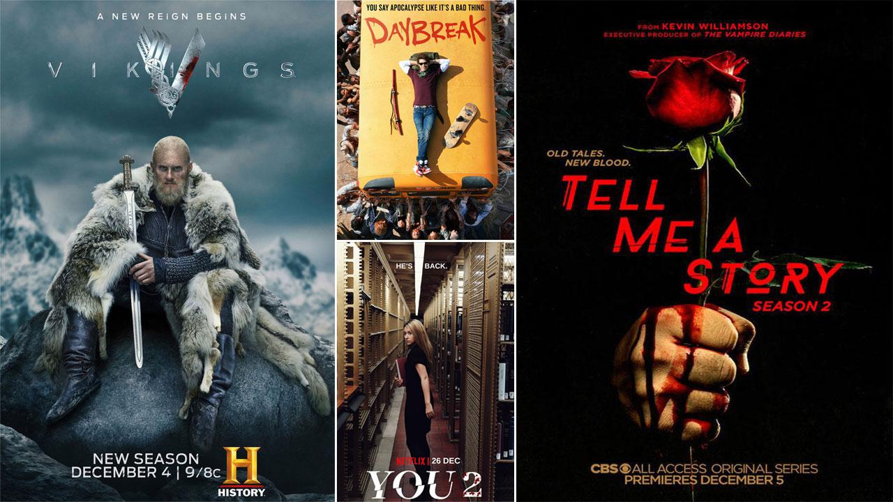 Vikings, Tell Me A Story, Daybreak... Les affiches séries de la semaine !